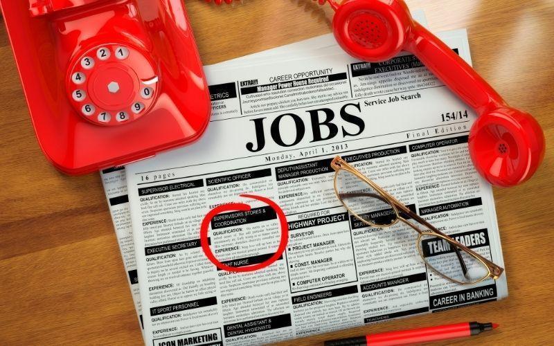 Modern job hunting websites